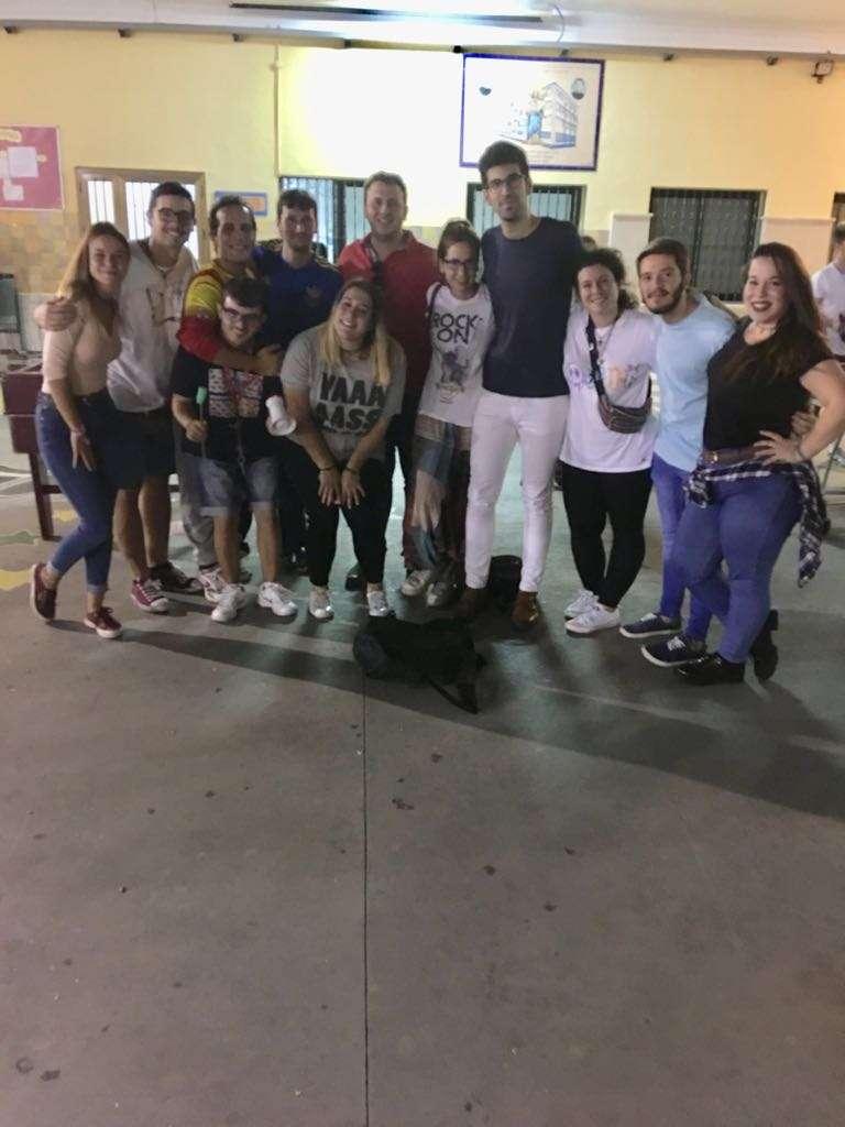 Visita a la Asociación Juvenil Francisco Miguez