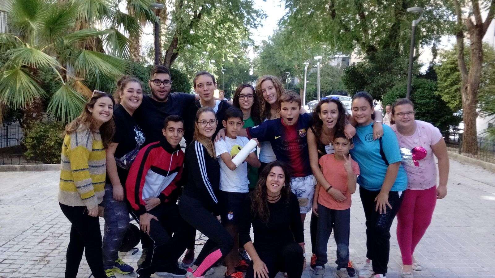 Visita al Centro Juvenil Dosa, de Jaén