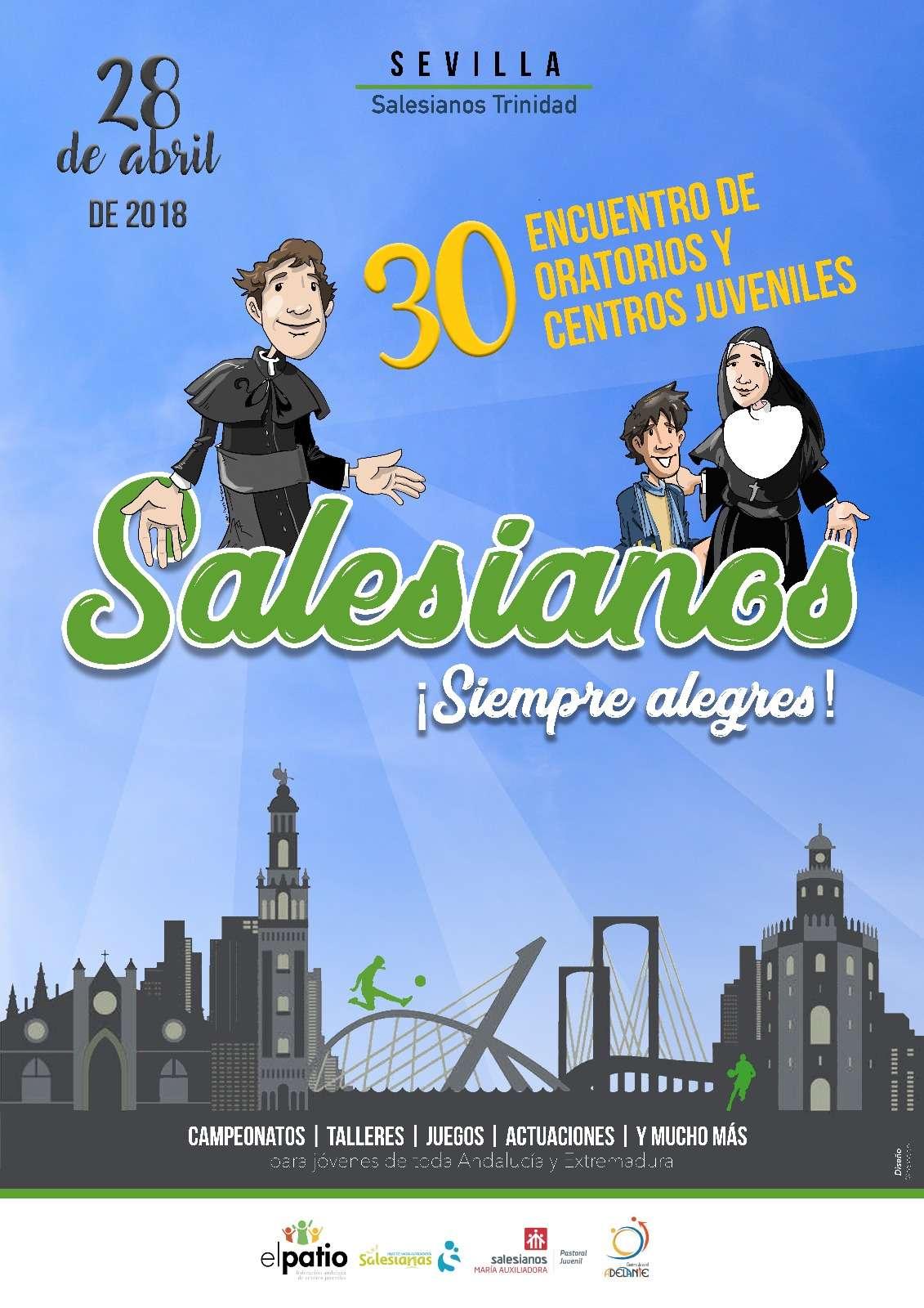 XXX ENCUENTRO DE ORATORIOS Y CENTROS JUVENILES